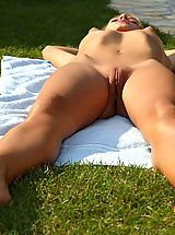 ALS Scan Pics: blue angel 05 poolside pussy