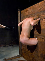 Fetish Babes: Girl in body stocks and extreme caning!