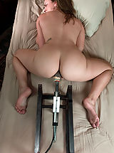 Ex Girlfriend Pics Babes: Young hot blonde gets railed in her tight pussy by fast machines.