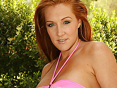 Pussy Movie, Morgan reigns poses poolside for anilos.com