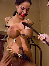 Kink Pussy: Young and busty girl punished and fucked by dominatrix.