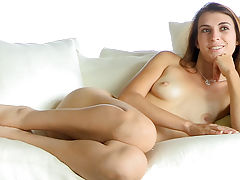 Thena nude on the couch