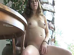 Babes, Wendy plays with her sweet pussy