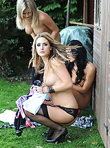 Outdoors Pics: Secretaries in High Heels Kayleigh Williams and  Naked Schoolgirls in April 2011