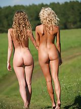 Femjoy Pics: Femjoy - Nicolle, Anju in Going For A Walk