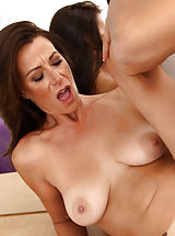 Sassy milf Mimi Moore gets plowed by a thick cock