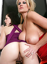 Bobbi Starr and Kelly Madison show Mr. Madison what pornstars really love