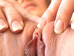 Tight Pussy videos, Dani squeezes her pussy together