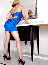 Young Babes, Madison Ivy, Goes Best in Blue