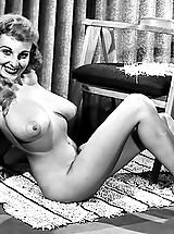 Vintage Babes: Blast from the Past Woman
