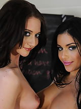St. Mackenzies Pics: Secretaries in High Heels Miss Keira and Natalie Thomas in January 2012
