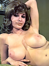 Vintage Babes: Joyce Gibson Aka Alexis Love - Big Busty Queen of the 70's Posing Fully Nude Hairy Cunt Is Visible Nice Hard Nipples
