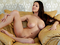 Sexy Babes, Alluring busty hottie shows off her hot naked body with amazing big tits in these videos.