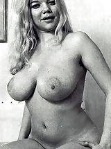 Vintage Babes: Beautiful and Curvy Retro Girls Eagerly Fondle Their Breasts and Show off Just How Gorgeous They Are