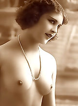 Young Babes, Antique Nude Ladies