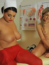 Lesbians Pics: StMackenzies on December10 Faye Taylor and Matron Jenny