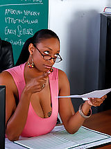 Naughty America Pics: Carmen Hayes gets fucked on her desk