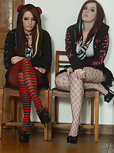 Jessica Rose and Samantha Bentley