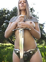 Fantasy Babes: WoW nude nevaeh dangerous warrior