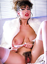 Old Pussy, First ever release of a stunning photo shoot of this legend of the sex vid screen, Christy Canyon..