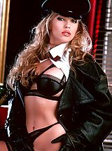 Suze Randall Pics: Lana caught in the act of some very sexy communist subversion.