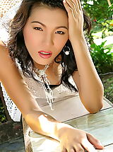 The Black Alley Pics: Asian Women wang xiao hong 07 forest hairy pussy
