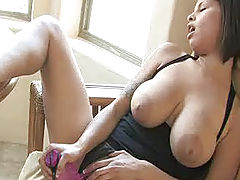 Naked Babes, Meilani plays with her pussy