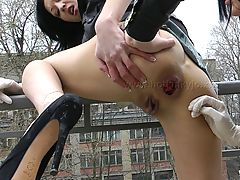 Pussy Pics, 2,Elbow Deep Fisting  AND RITA FIST EACH OTHER HOLES OUTSIDE ON TARRANCE