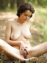 Pussy, Sexy milf Rimma in the wild naked and beautifully hypnotic and seductive