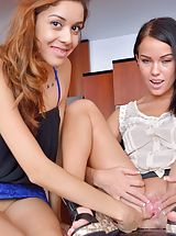 Mature Pussy, Naked Babe Megan and Sophia Mutual Exploration