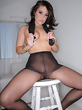 Pantyhose Pussy: Gracie Glam, Ryan Madison