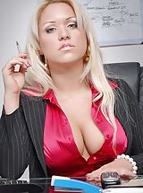 Big Boobs Ceo, Business Fluffer