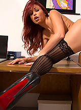 Stockings Pussy: Monique Alexander