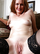 pussy slit, Camille_johnson - Cock hungry mommy teases her tight shaved twat until she cums