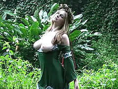 First Time Videos, Danielle gets naught in the jungle