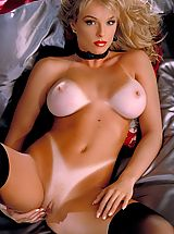 Tan Line Babes: Lydia Schone, a lady in red with creamy white tits and luscious tan curves makes for one hell of a classics update!