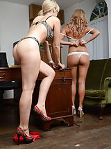 Lingerie Pics: Candice Collyer and Natalia Forrest 2